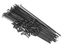 Salt Double Butted Spokes (40 Pack) / Black / 192mm