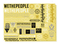 Wethepeople Sticker Sheet 15