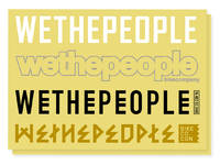 Wethepeople Big 4 Sticker Sheet