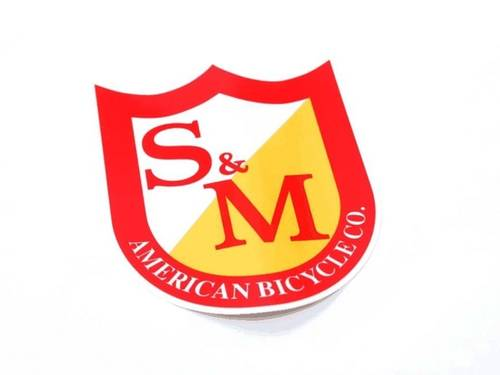 S&M Shield Sticker