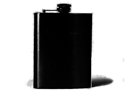 S&M Shield Hip Flask / Stainless