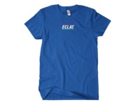 Eclat Pizza Place Embroidered T-Shirt Another view