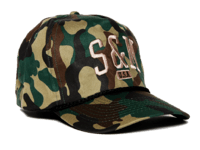 S&M SMU 5 Panel Hat Another view