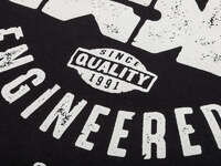 BSD Engineered T-Shirt / Black Another view