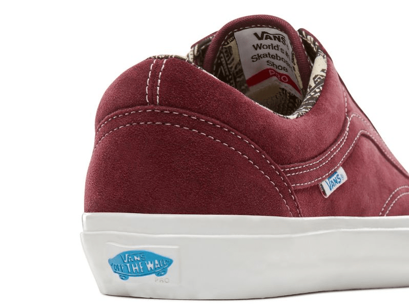 48a7e55658c3 Vans Old Skool Pro Ray Barbee OG Burgundy     US12 Another view