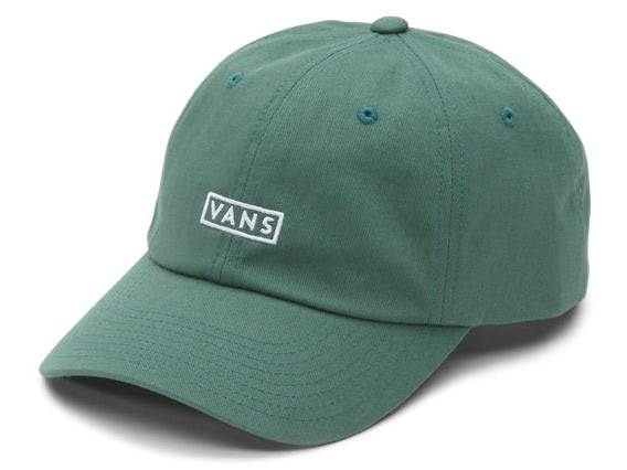 19580e18ea2 Vans Curved Bill Jockey Cap Green