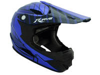 RJAYS Mach 6 Full Face Helmet Blue Black