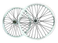 "ANSWER 20 x 1.75"" Pinnacle Pro Wheel Set / White"