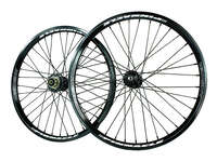 "ANSWER 20 x 1.75"" Pinnacle Pro Wheel Set / Black"