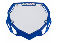 BOX Two Phase 1 Number Plate / Blue Pro
