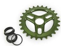 Eclat Vent Sprocket / Army Green / 28T