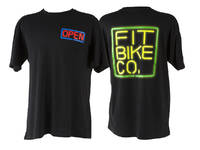 Fit Neon T-Shirt Black