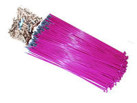 Hi-Tech Coloured Spokes (144pcs) / 178mm / Pink