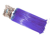 Hi-Tech Coloured Spokes (144pcs) / 184mm / Purple
