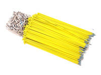 Hi-Tech Coloured Spokes (144pcs) / 184mm / Yellow