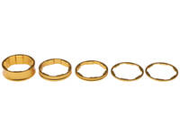 Promax Headset Spacer Set / Gold / 1 inch