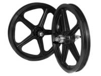 Skyway Tuff 5 Spoke 16 Wheelset / Black