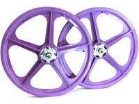 Skyway Tuff II Rivet 20 Wheelset / Purple