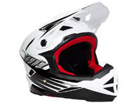 THH T-42 White/Black 2 Full Face Helmet / Youth L