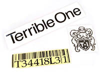 Terrible One Barcode Frame Sticker pack