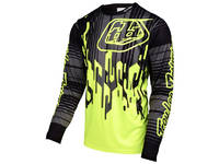 Troy Lee Sprint Jersey Code Flo Yellow (2017)