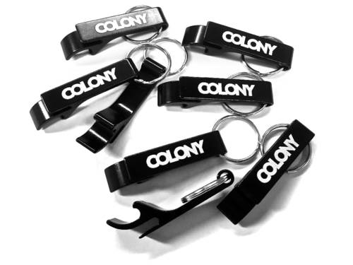 Colony Bottle Opener Keyring