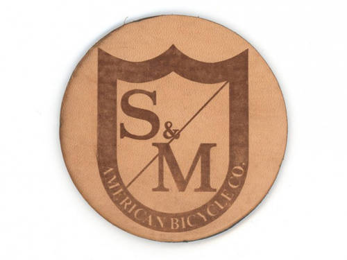 S&M Coaster - Brown Leather