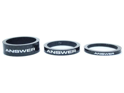 Answer Pro 1-1/8in Carbon Headset Spacer (Set of 3)