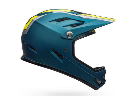 Bell Sanction Helmet (2020) Matte Blue/ Hi-Vis