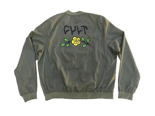 Cult In Bloom Jacket Green