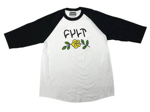 Cult In Bloom 3/4 Sleeve T-Shirt