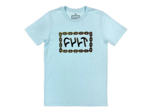Cult For Life T Lite Blue