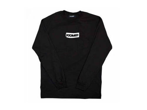 Doomed Sticky LS T-Shirt / Black