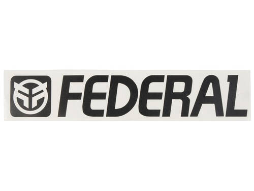 Federal Die Cut Sticker
