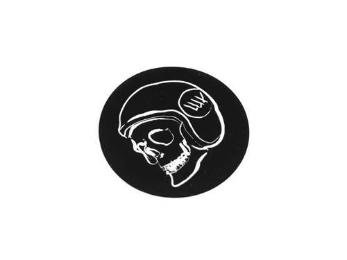 LUXBMX Skid Lid Circle Sticker