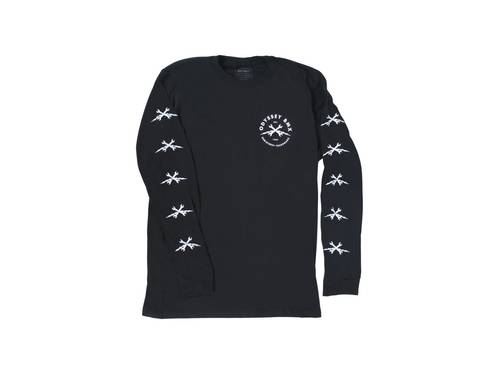 Odyssey Echo Long Sleeve Black T-Shirt