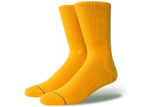 Stance Icon Athletic Socks Gold