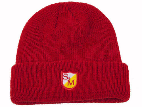 S&M Small Shield Beanie