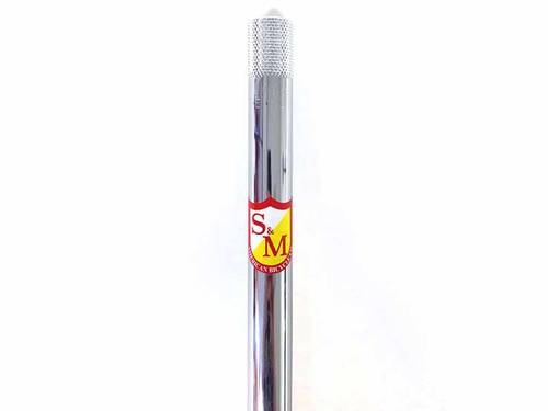 S&M Old School Straight Post / 22.2mm x 350mm / Chrome