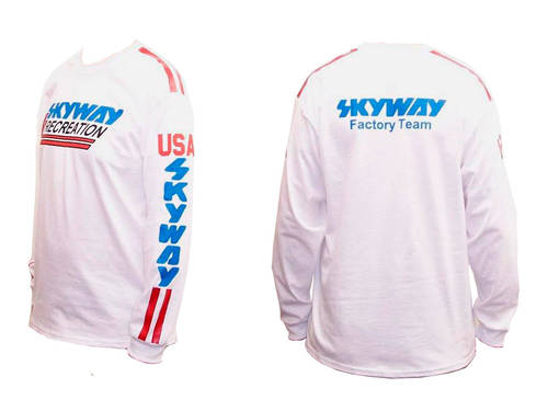 Skyway Jersey White