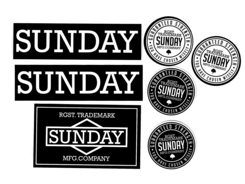 Sunday Sticker Pack (2019)