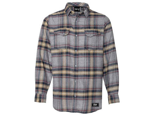 The Trip Western Flannel / Light Grey