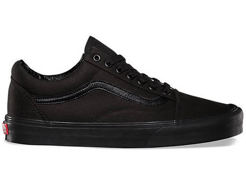 Vans Old Skool Shoes Black/Black