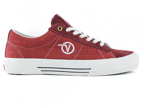 Vans & Pass-Port Sid Pro Shoe / Red Brick