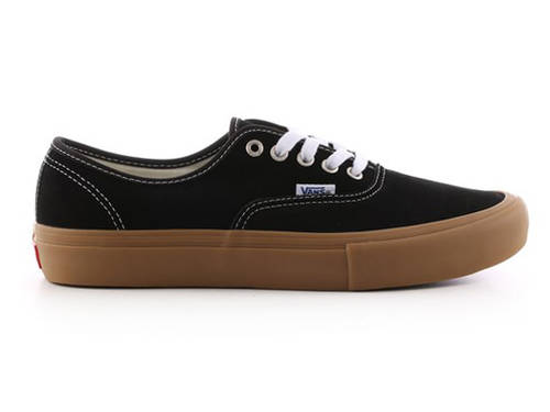 Vans Authentic Pro Black/Light Gum