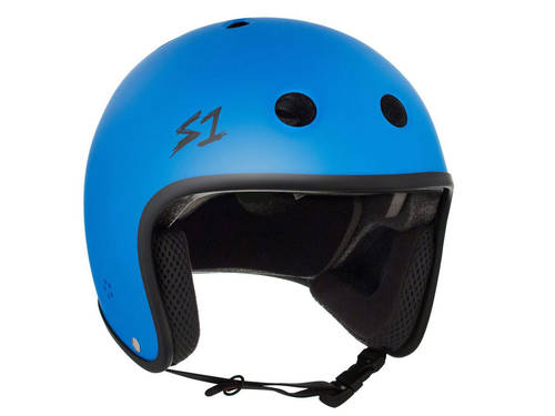 S-One Retro Lifer Helmet Matte Cyan