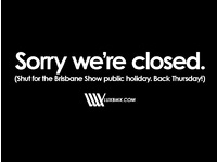 Closed for Ekka Show Day