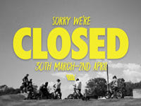 Closed Easter Long Weekend